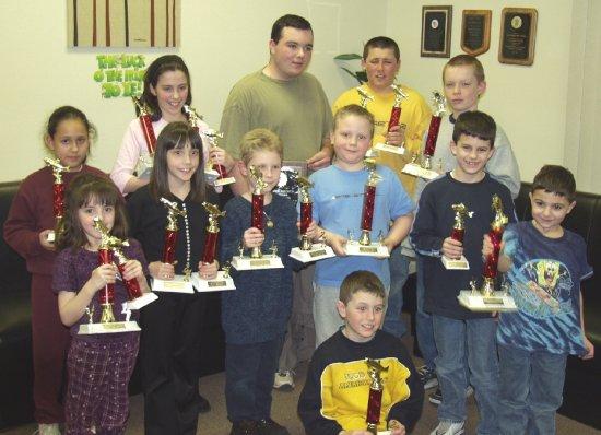 2002 Junior Yearlong Contest Winners